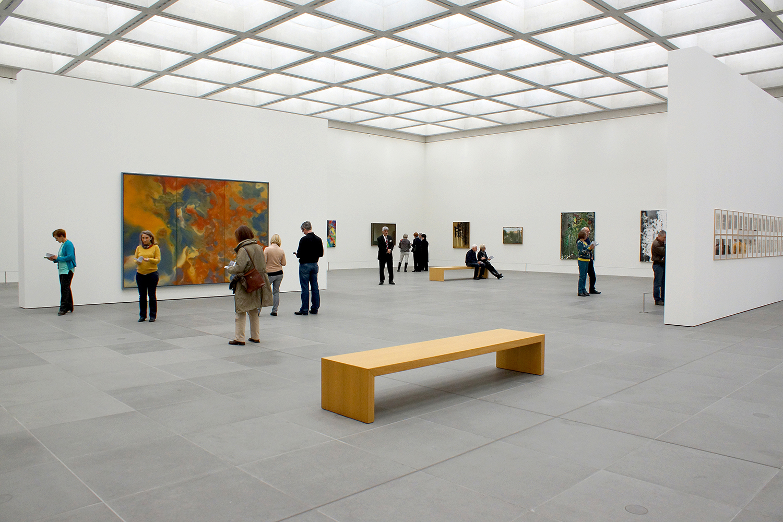 Neues Museum Richter, Gerhard: Ausschnitt - Werke aus der Sammlung Böckmann
