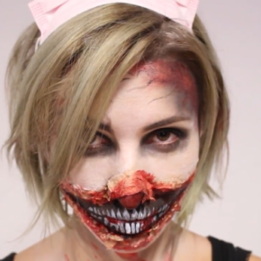 DIY Halloween Make-up Tutorial
